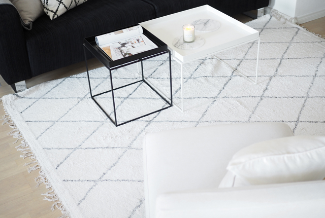 Char and the city - Livingroom - The perfect rug from Cobello