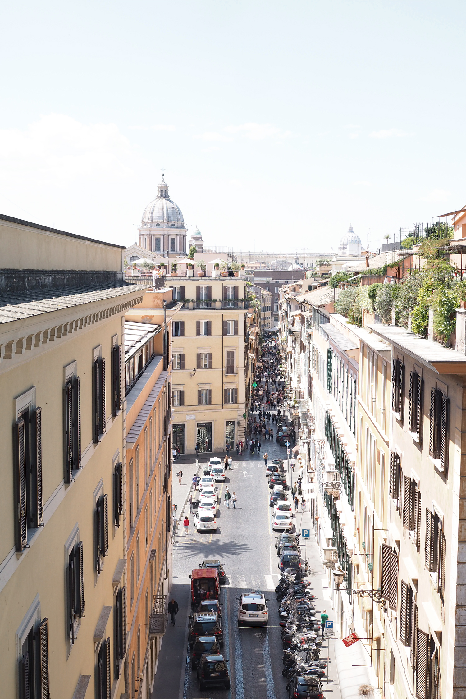 Char and the city - Mediterranean cruise - Italy: Rome, Florence and Pisa