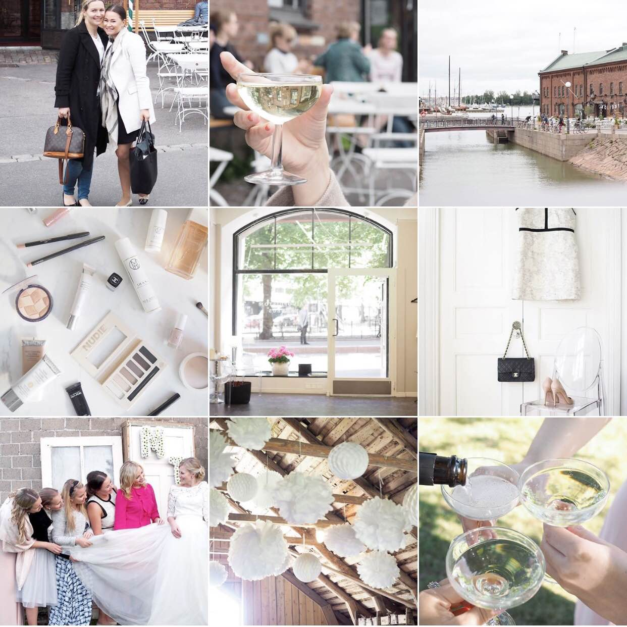 Char and the city - a summery Instagram-feed - follow me as @charandthecity on Instagram!
