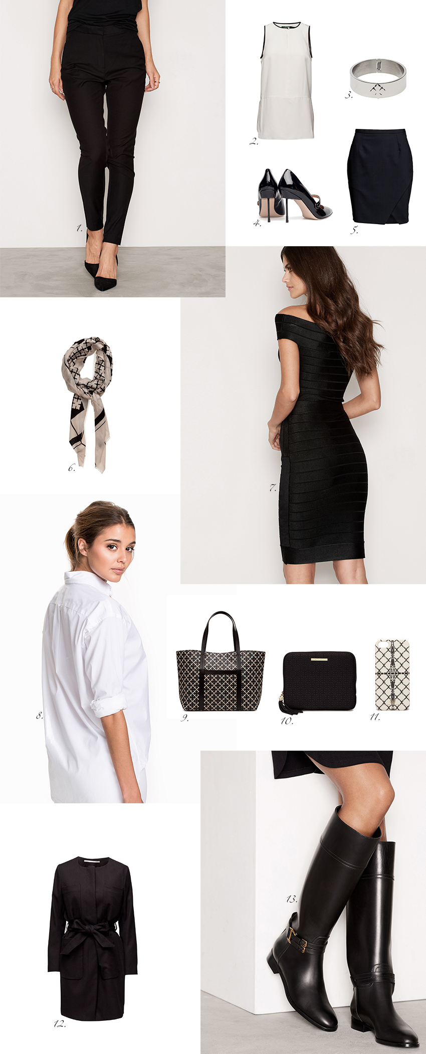 Sale finds to a classic wardrobe now on the blog: //www.idealista.fi/charandthecity/2016/12/29/vaatekaapin-klassikot-alesta