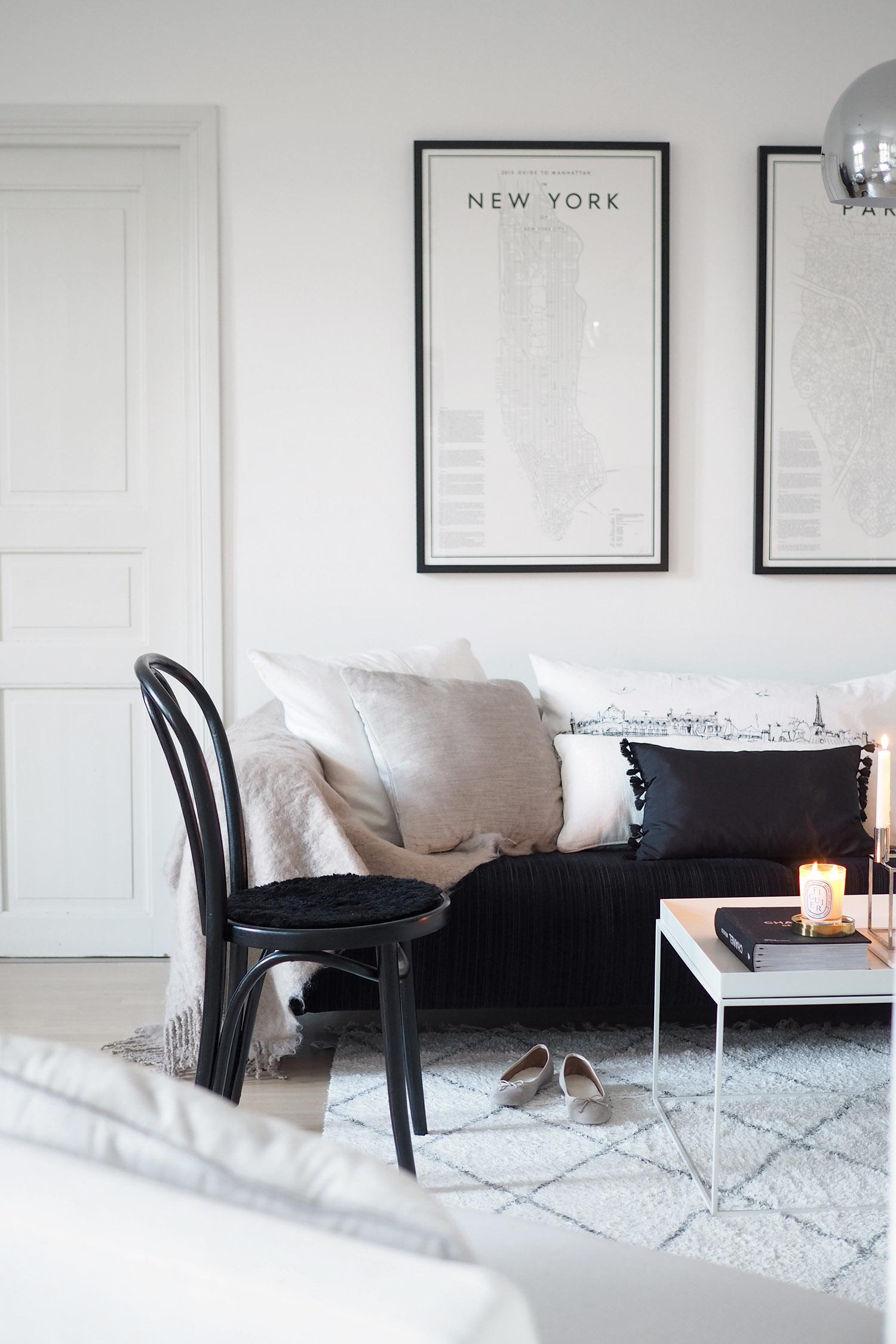 Char and the city, livingroom - olohuone