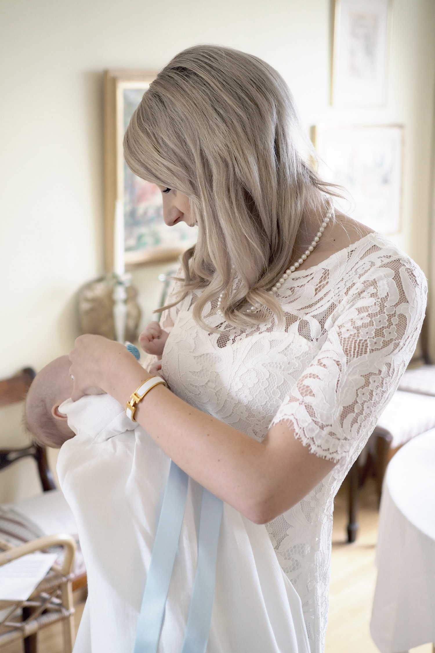 Char and the city, ristiäiset, The art of cakes, Christening, lace dresses