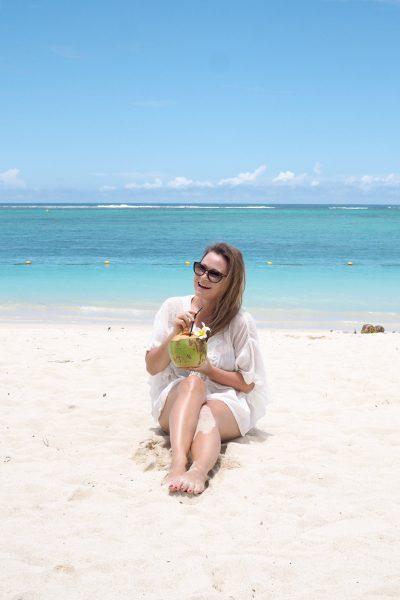 Char and the city, Mauritius, Flic en Flac beach, La Pirogue Hotel