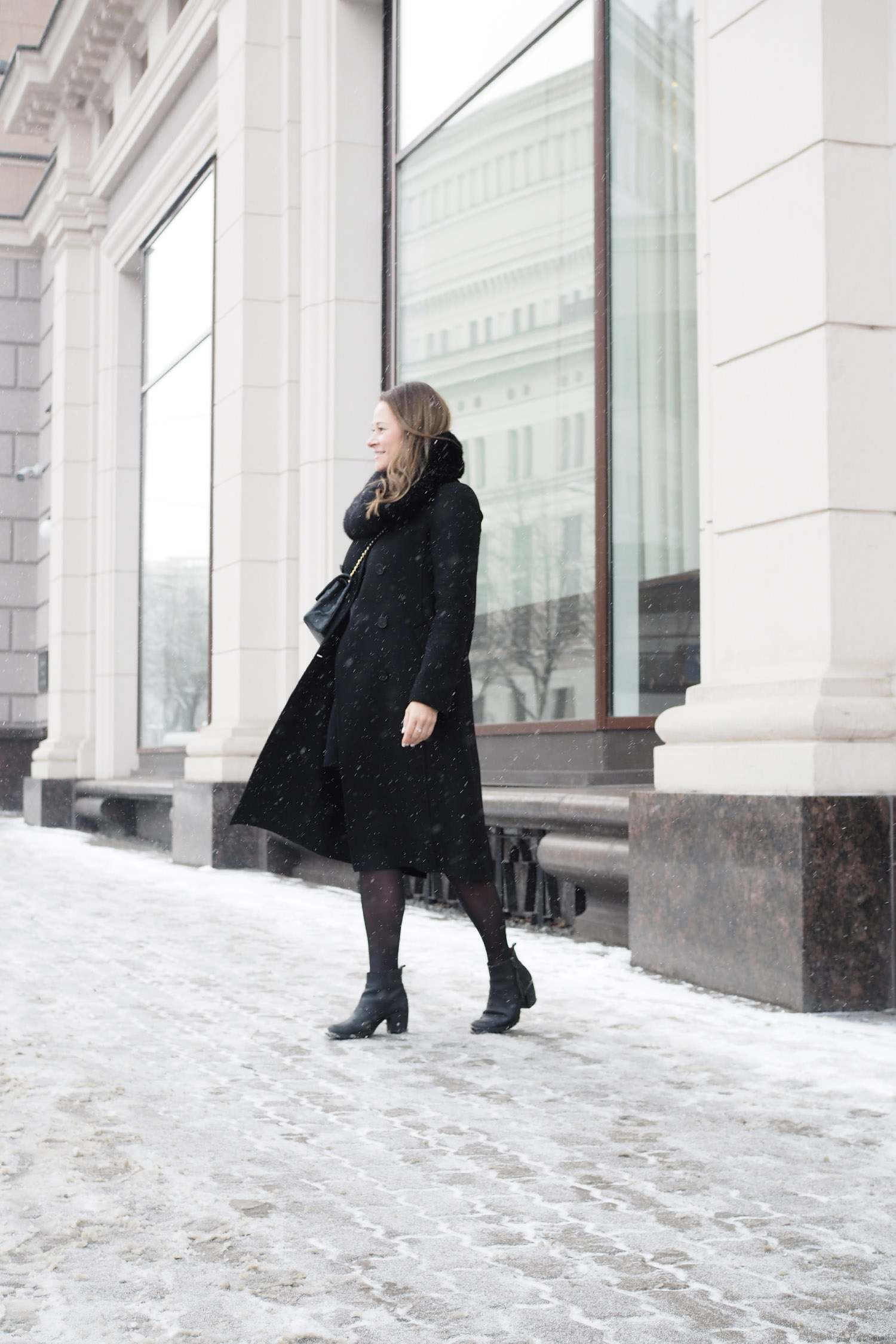 Char and the city, outfit of the day, all black, asukuva, musta