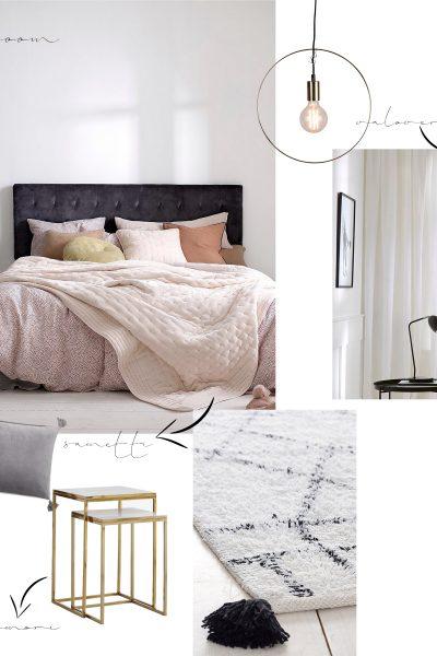 Char and the city, makuuhuone / bedroom, sisustus / interior, sale pics from Ellos, Room21, Jotex