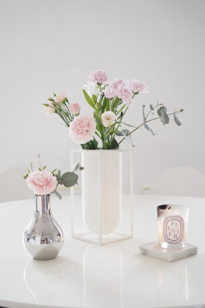 Char and the city, charandthecity.com, kukat, maljakot, By Lassen, Georg Jensen, flowers, vases