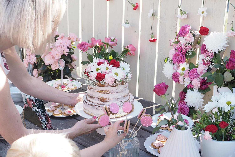 Char and the city, charandthecity.com, kukka teemaiset syntymäpäiväjuhlat