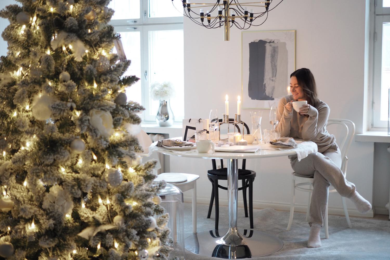 Char and the city, charandthecity.com, joulu, aamiainen, kattaus, keittiö, joulupuuro