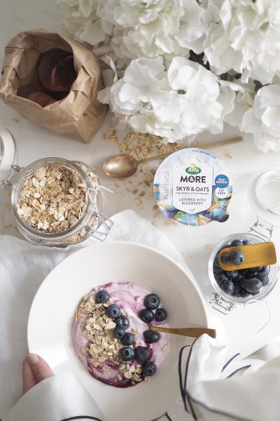 Char and the city, charandthecity.com, Arla &More, Skyr & oats