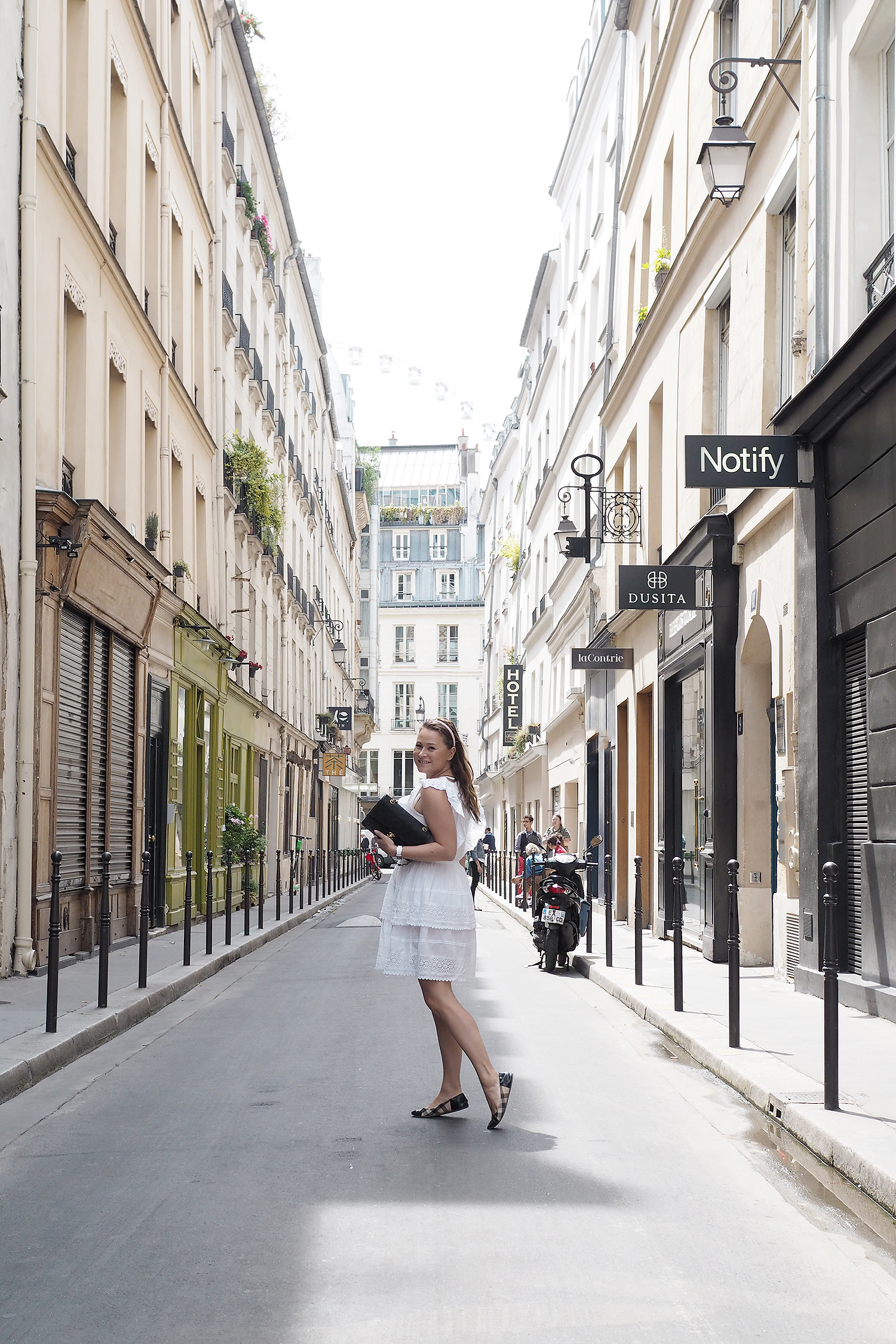 Char and the city, www.charandthecity.com, Pariisi, muoti, tyyli, päivän asu