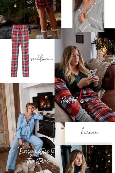 Char and the city, www.charandthecity.com, joulupyjama, Ellos, muoti