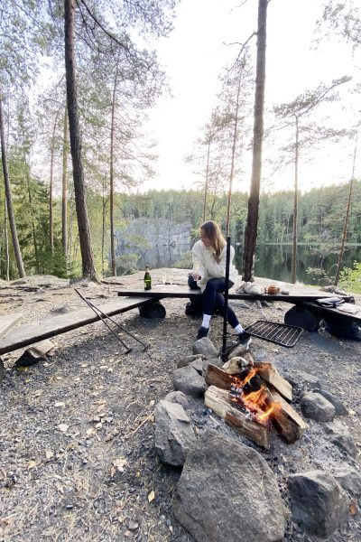 Char and the city, www.charandthecity.com, glamping, telttailu, Nuuksio